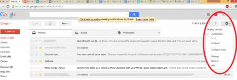 screenshot showing where setting is in gmail