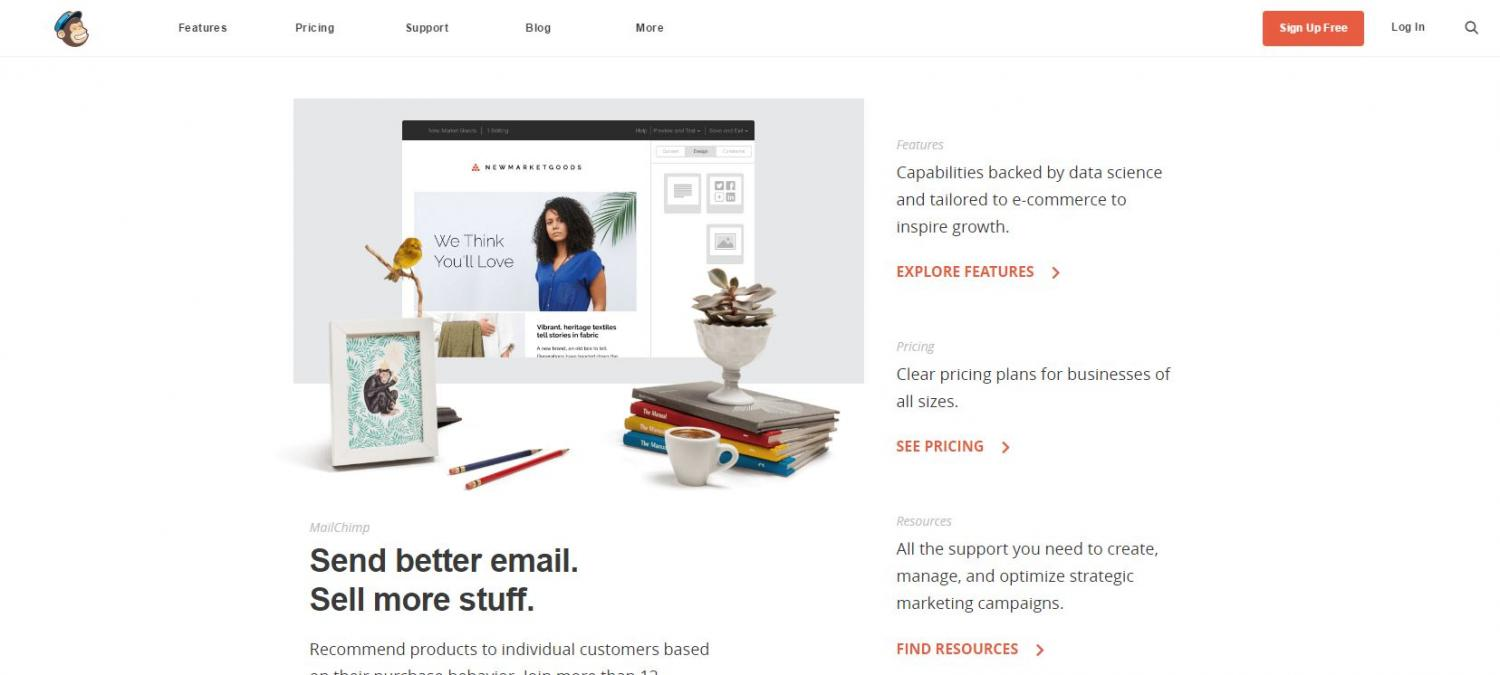 Department Of Information Technology NC State - Mailchimp ecommerce templates