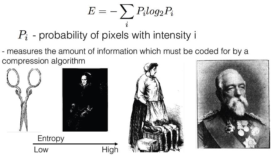 formula and examples of entropy level